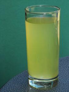 Zielony koktajl dla urody
